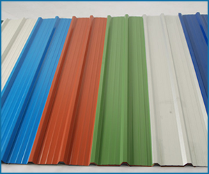 galvanized iron color coated sheets in India