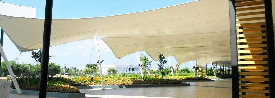 Tensile Fabric and structure hyderabad